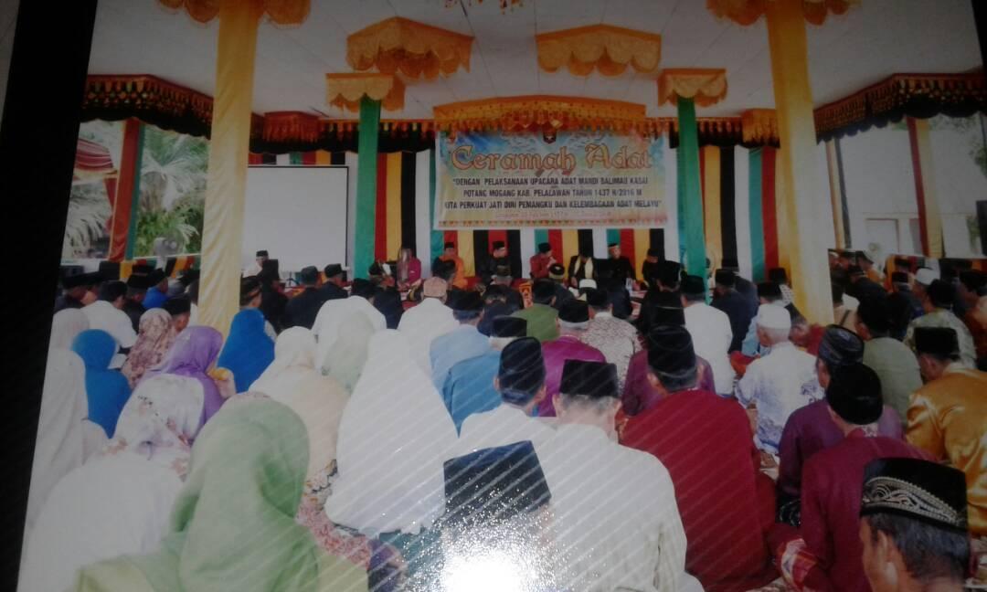 Hari ini Puncak Acara Balimau Kasai di Kabupaten Pelalawan