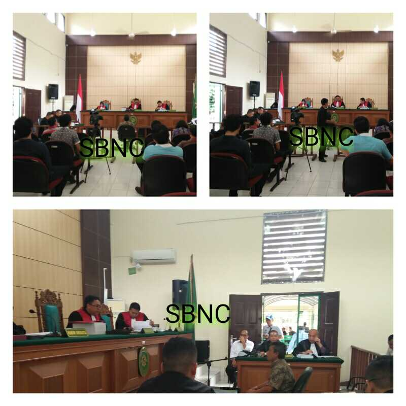 Sidang Lanjutan Perambahan Lahan, Kesaksian Dua Pimpinan PT NWR di Pengadilan