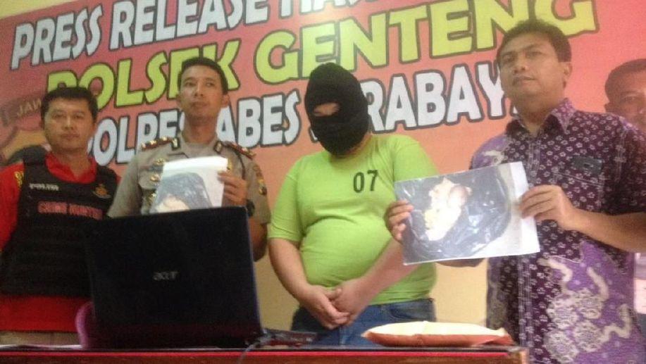 Pelaku Pembuang Janin Bayi di Saluran Limbah Hotel di Surabaya Terungkap