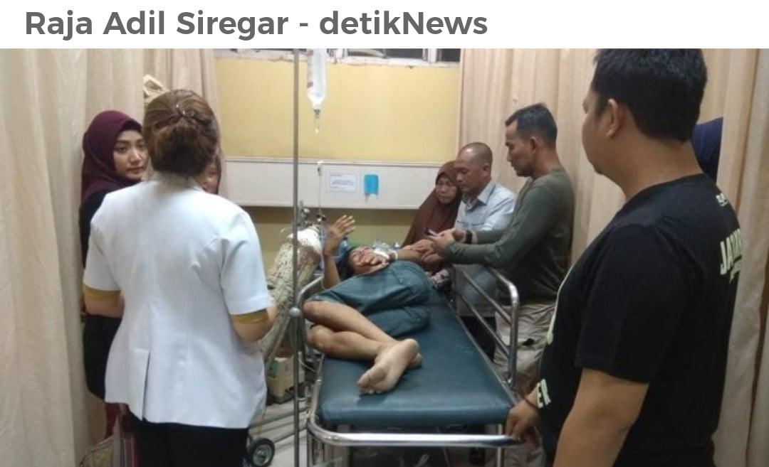 Mengejar Pelaku Kejahatan, Polisi Ditusuk Preman di Palembang