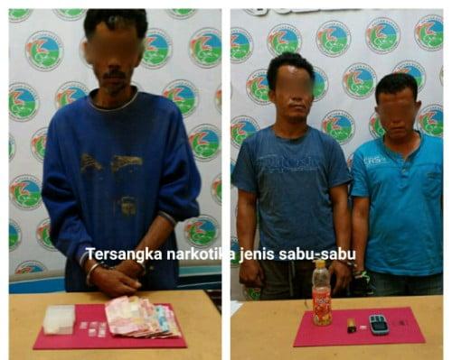 Sedang Pesta Narkoba 3 Warga Langgam Ditangkap
