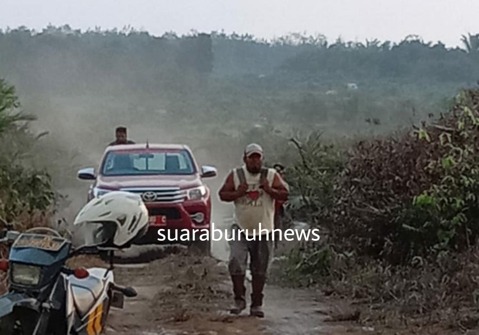 Karhutla tak Ada Hentinya, Beberapa Titik Hotspot di Temukan Desa Tambak