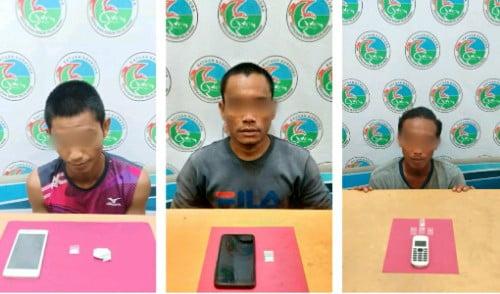 Sehari Tiga Kurir Sabu Ditangkap Satnarkoba Polres Pelalawan