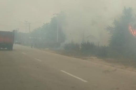 Dari Kemarin Sore, Lahan Terus Terbakar di Pelalawan