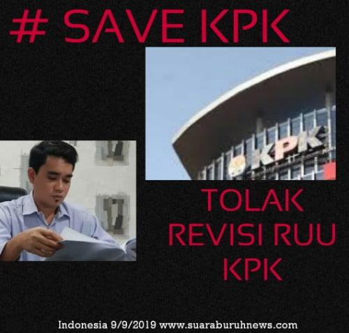 Hari ini, Doktor Hukum Nusantara Kirim Surat ke Presiden Tolak RUU KPK