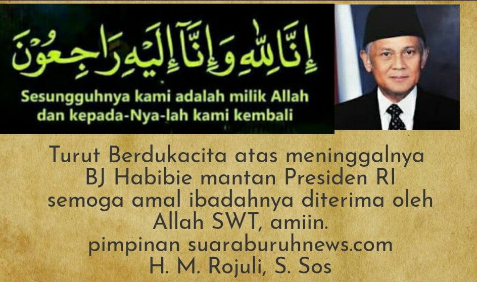 Mantan Presiden BJ Habibie Meninggal Dunia di RSPAD Jakarta