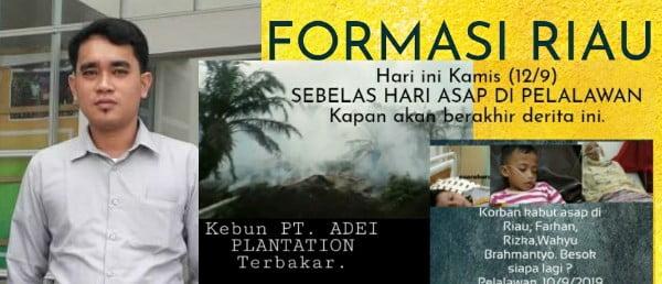 FORMASI Riau Minta Presiden Jokowi Berkantor di Pekanbaru