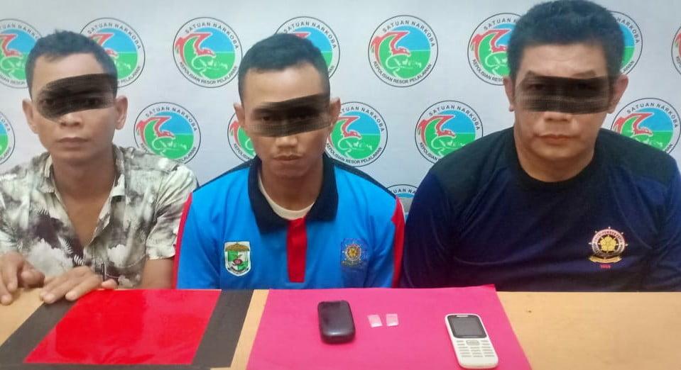 Bawa Shabu Dua Oknum Satpol PP Pelalawan Ditangkap di Rusun Bhakti Praja