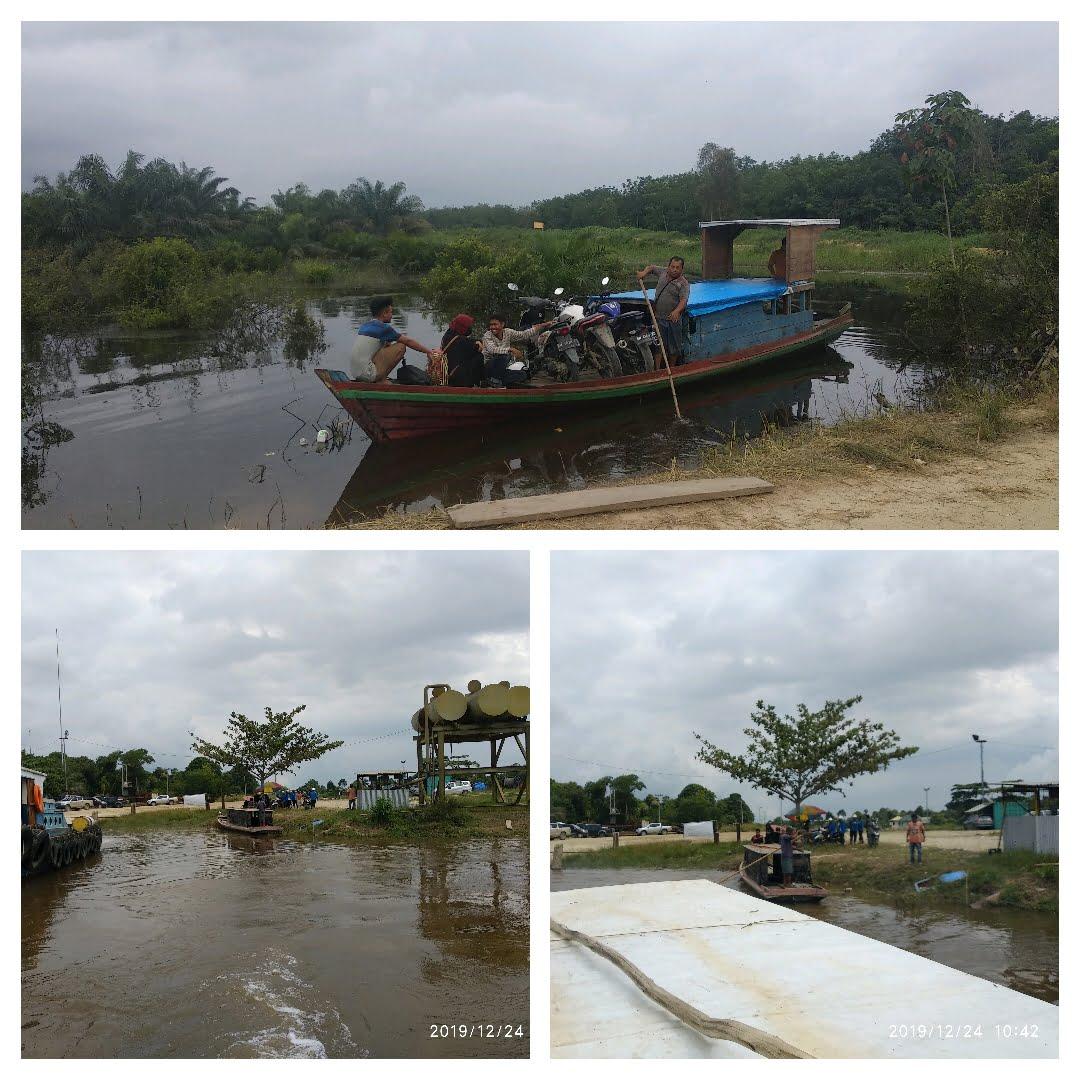 Air Sungai Kampar Naik Terus, Warga Nikmati Berkah Banjir
