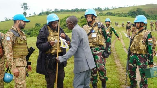 Patroli Long Range Satgas TNI MONUSCO, Antisipasi Ketidakpastian Keamanan di Kongo