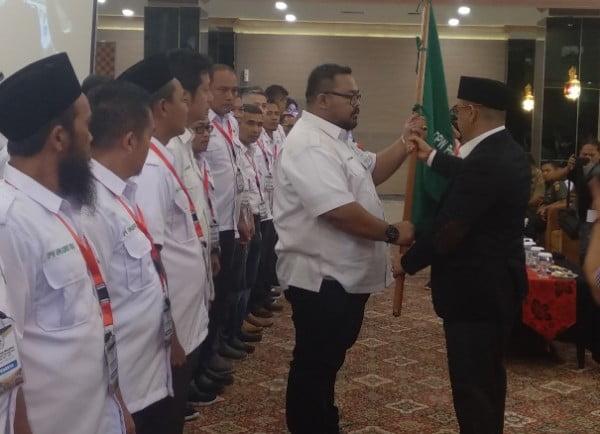 Gubernur Riau Lantik dan Kukuhkan Pengurus DPW APKASINDO Riau