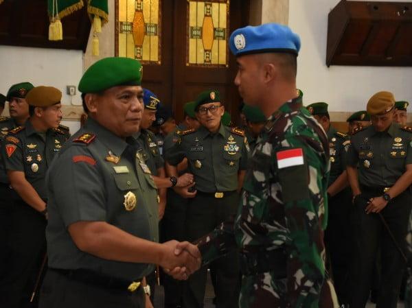 Pangdam III/Siliwangi Lepas Satgas Misi Pemeliharaan Perdamaian PBB di Libanon Tahun 2019