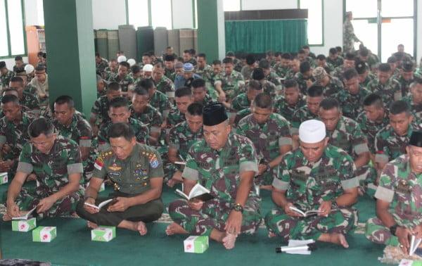 Peringati Hari Juang TNI AD Tahun 2019 Kodam XII/Tpr Gelar Do'a Bersama