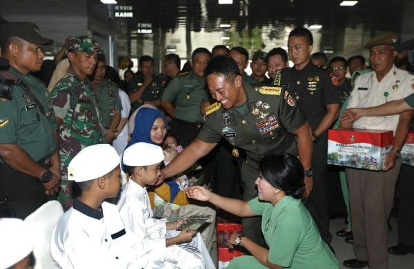 Kasad : 41 ribu lebih Peserta ikuti Bakti Sosial Kesehatan Hari Juang TNI AD 2019