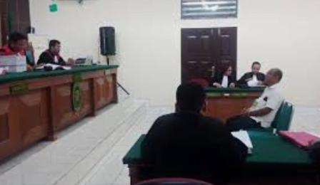 Sidang Lanjutan Kasus Karhutlah PT SSS Ditunda
