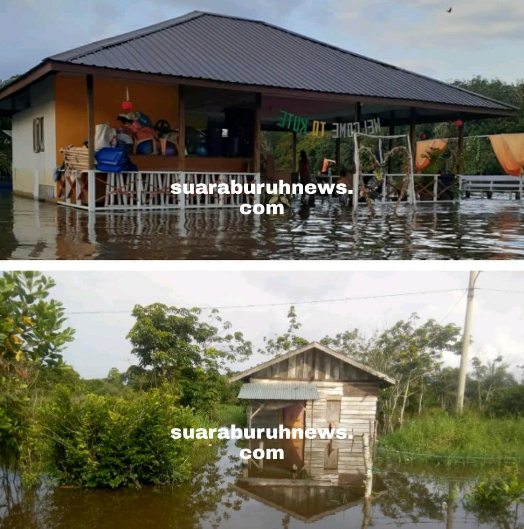 Ketinggian Banjir di Pelalawan Terus Bertambah