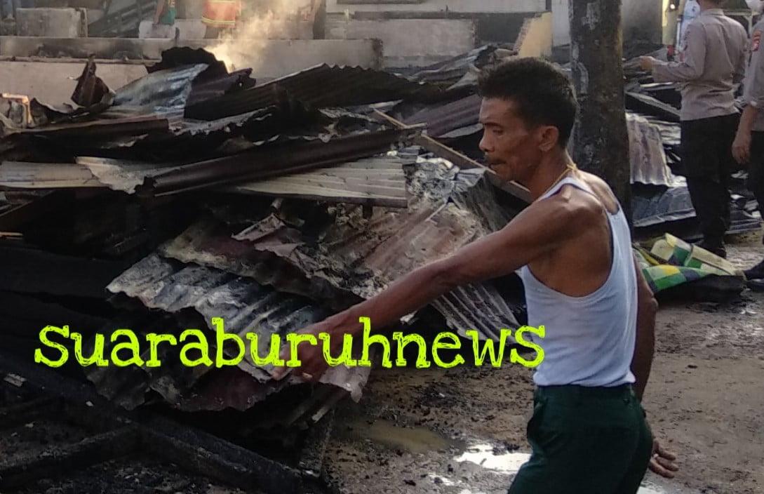 7 Unit Rumah Petak Hangus Terbakar