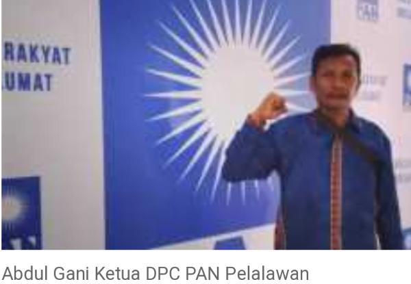 PAN Pelalawan Diterpa Konflik Internal Menjelang Pilkada Kasus Pemalsuan Mandeg