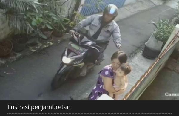 PNS Dijambret di Gambir, Driver Ojek Online Ditangkap