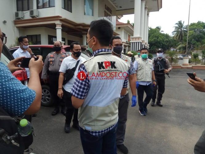 Kantor Bupati Lampung Selatan Digeledah KPK