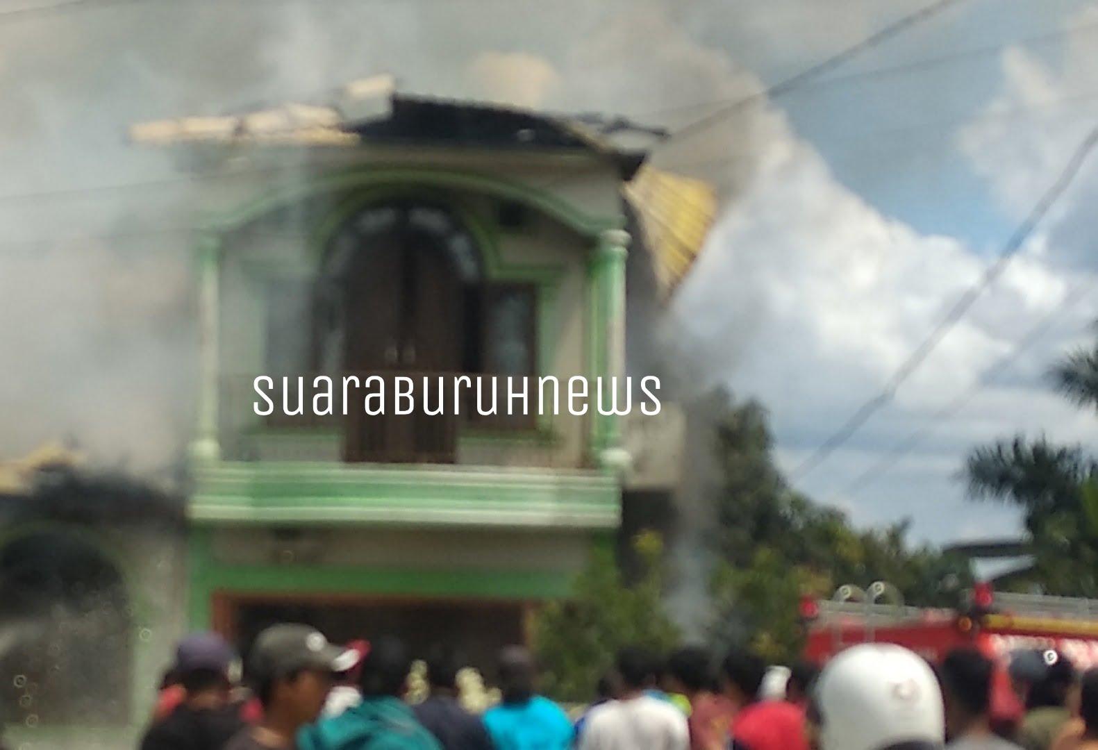 Rumah Warga Jalan Sepakat Pangkalan KerinciTerbakar