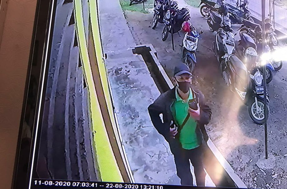 Kronologis Curanmor di Puskesmas Berseri Pangkalan Kerinci yang Terekam CCTV
