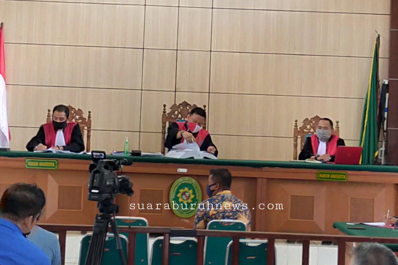 Sidang Lanjutan Karhutla Terdakwa PT ADEI Pemeriksaan Saksi-saksi
