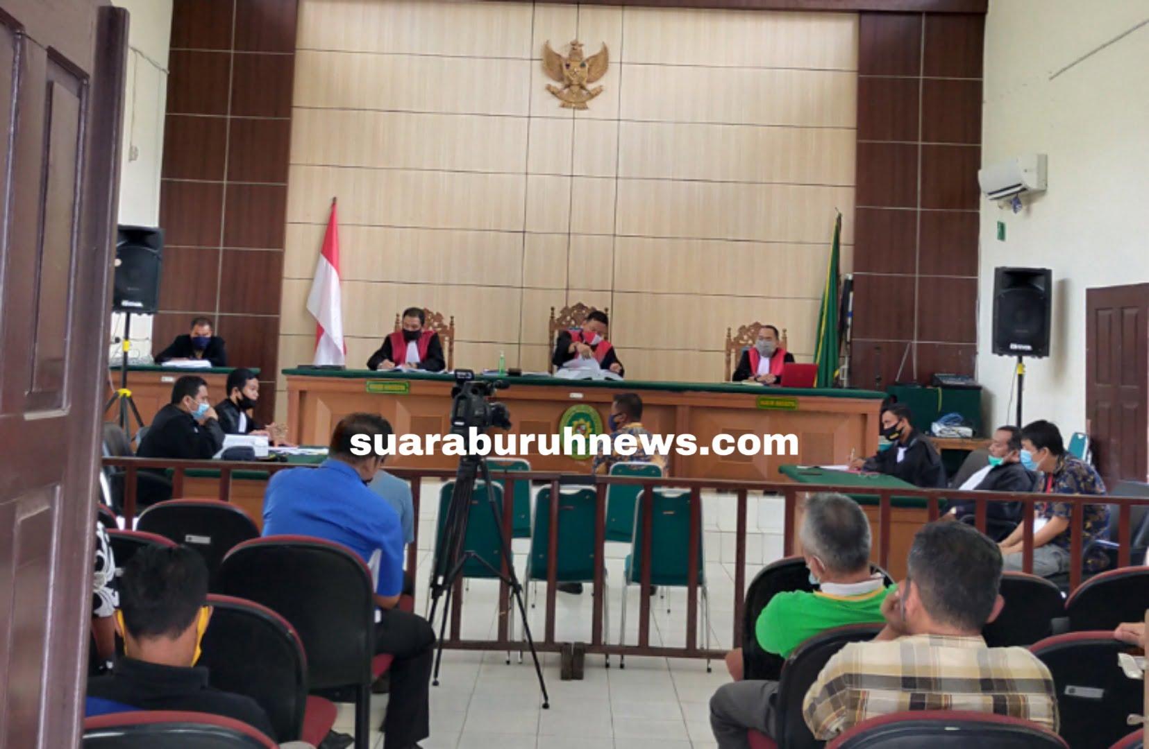 Karhutla PT ADEI Kepala Desa Batang Nilo Bersaksi di Pengadilan
