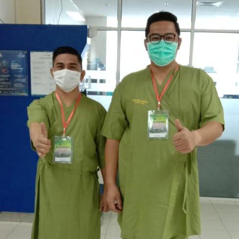 Bapaslon Ridi-Habibi Selesai Jalani Tes Kesehatan