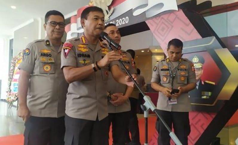 Kapolri Jenderal Polisi Idham Azis Mutasi 105 Pati dan Pamen